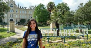 Gabriela Sandoval must be shaking with excitement after her commitment to the Rattlers