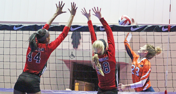 Madelin DiBease (23) and her ECJ 18s teammates were one of five clubs to receive at-large bids to 18 Open.