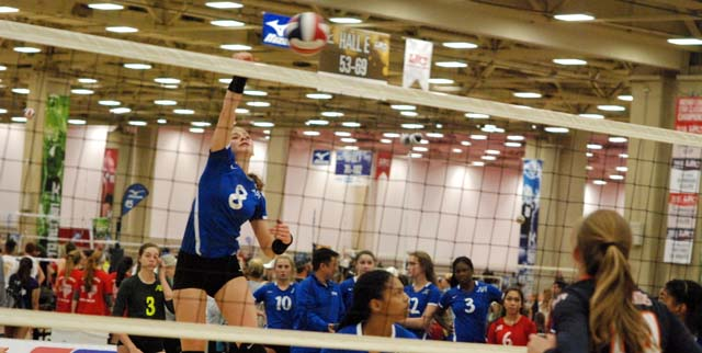 Paige Flickinger and her TAV 15 teammates are one of seven from the state ranked in our latest Top 60.