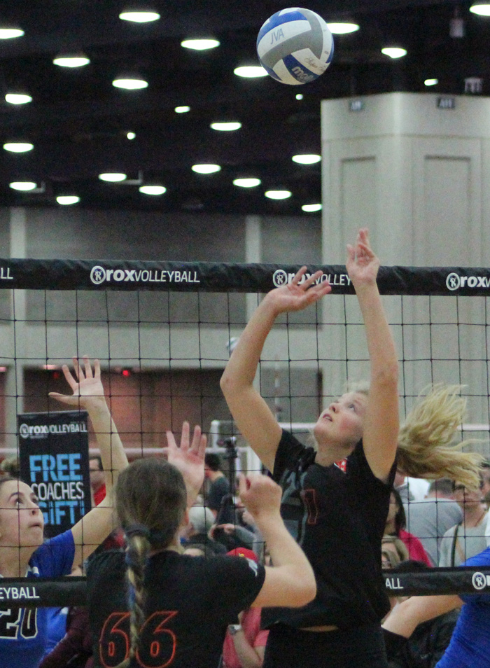 K2 setter Nicklin Hames is the leading draw in a strong Class of 2018 for Nebraska.