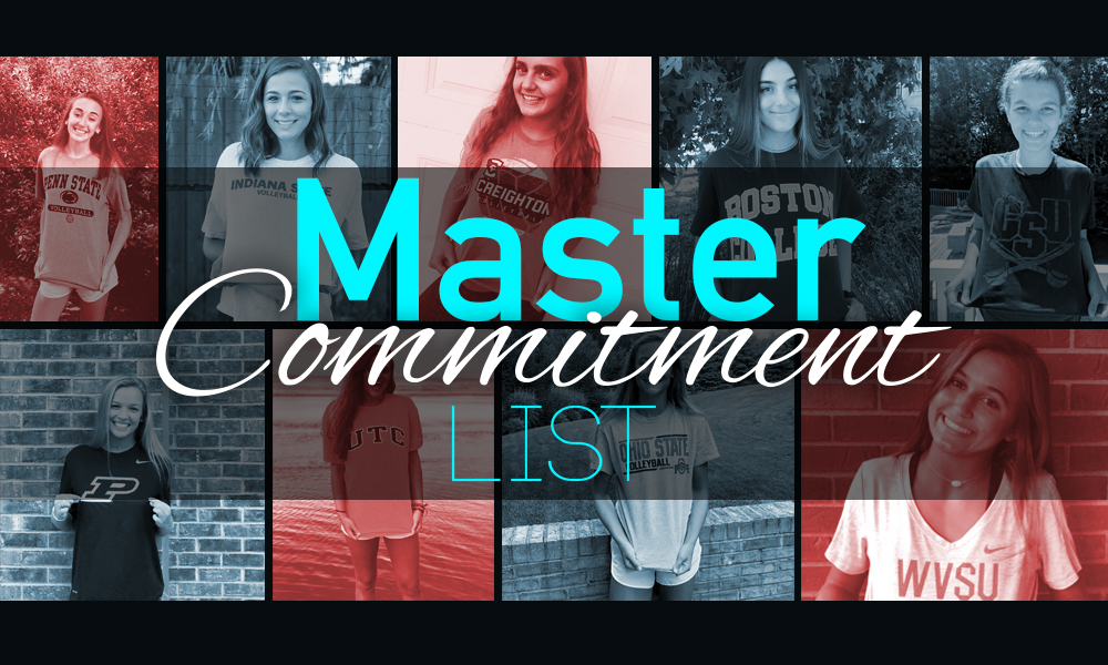 Master Commitment List – PrepVolleyball com | Club Volleyball | High