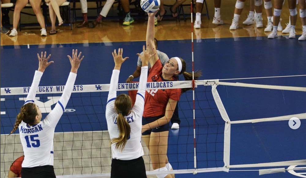 Lauren Bruns and the Dayton Flyers may be second in the Atlantic 10 Conference but they look like a lock for the NCAA Tournament even if they do not prevail in the conference tournament Nov. 16-18