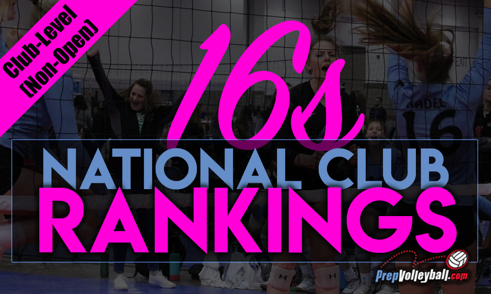 Northern Lights 16-2 is New No. 1 in 16s Non-Club Rankings – PrepVolleyball.com | Club Volleyball | High School Volleyball | College Volleyball