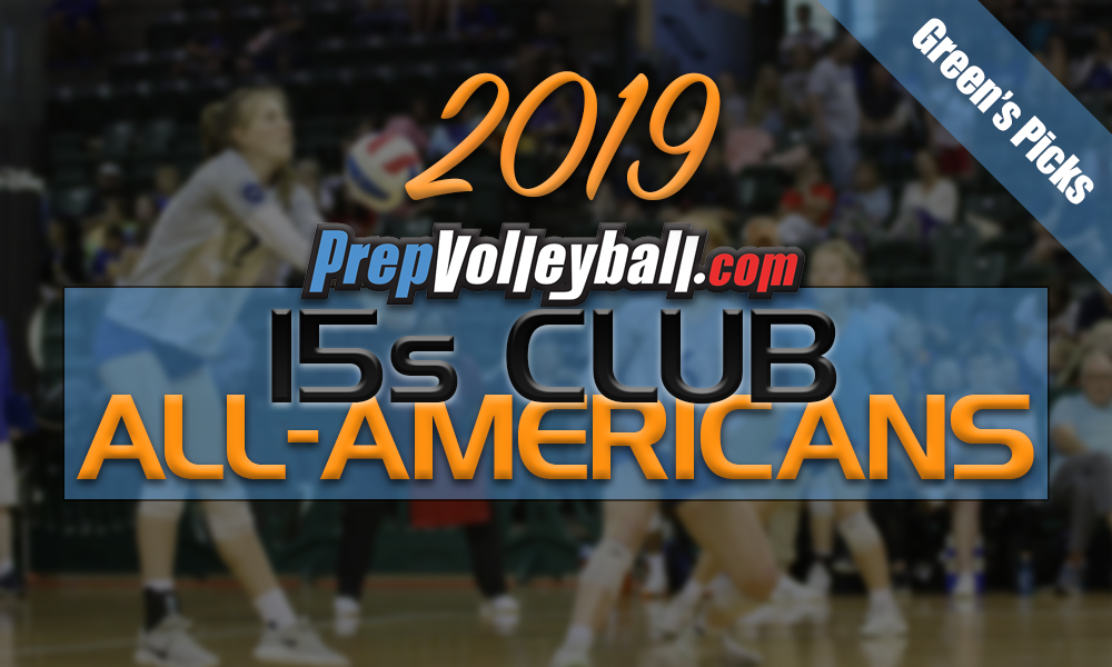 2019 15s Club All-Americans, Green's Picks