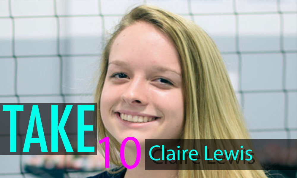 """Take 10"""" with Claire Lewis – PrepVolleyball com   Club"""