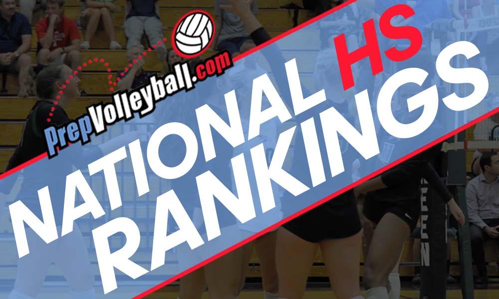 Sept. 12 National High School Team Rankings