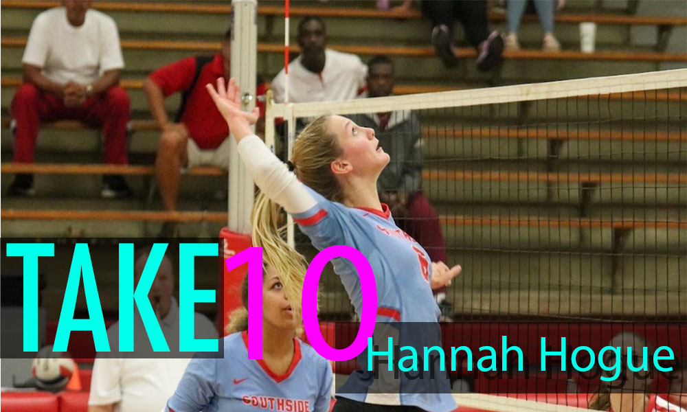 """Take 10"" with Hannah Hogue"