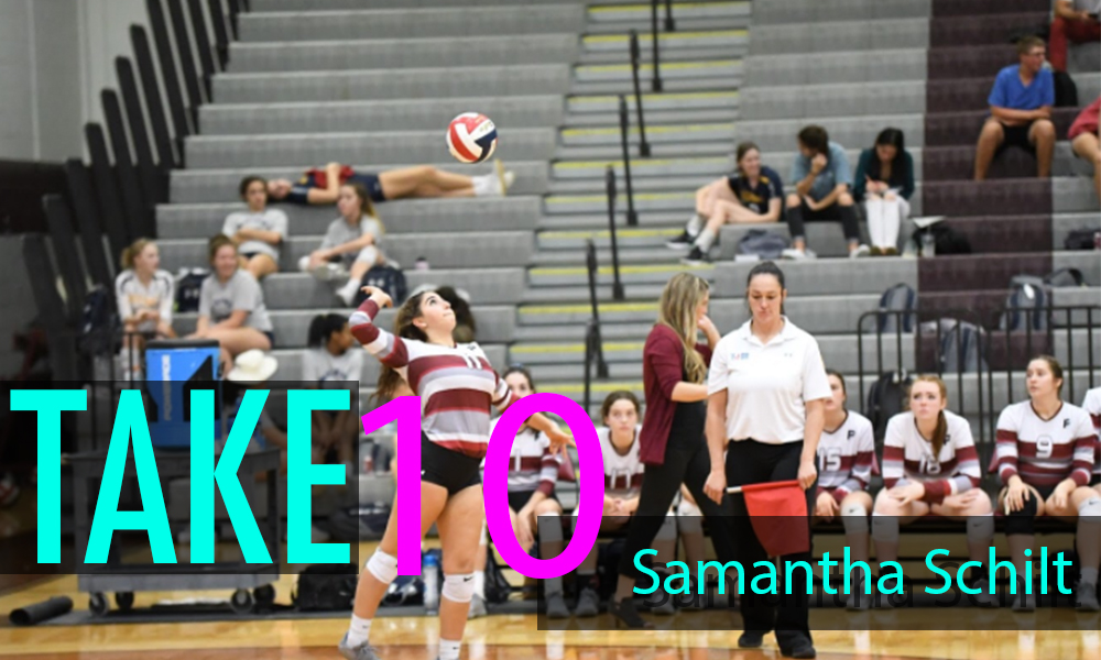 """""""Take 10"""" With Samantha Schilt"""